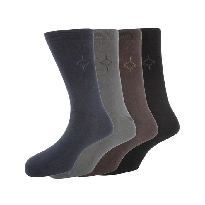 Onlineshoppee Premium Saver Pack Of 4 Pairs In Stylish Design With Supreme Comfort.