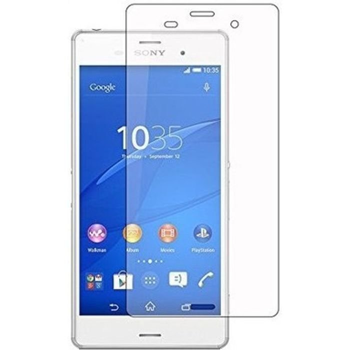Premium Quality 9H Hardness Mirror Screen Guard for Sony Xperia Z3 For Screen Protector