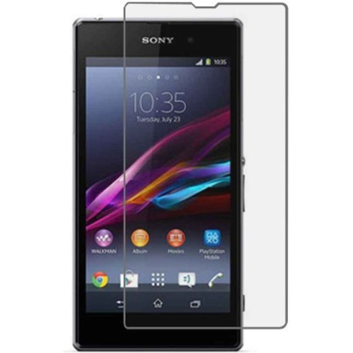 Premium Quality Hardness Mirror Screen Guard for Sony Xperia Z1 For Screen Protector