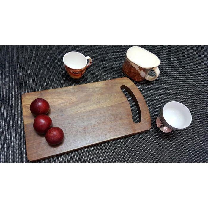Onlineshoppee Sheesam Wood Best Quality Kitchen Chopping Board  Size(LxBxH-15X8x1) Inch
