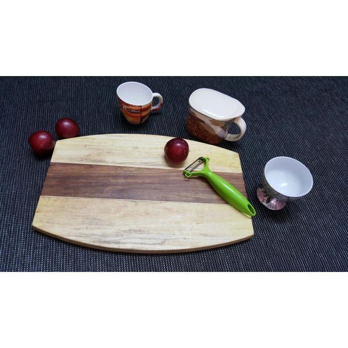 Onlineshoppee Sheesam & Pine  Wood Best Quality Kitchen Chopping Board  Size(LxBxH-15x10x1) Inch