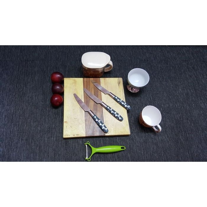 Onlineshoppee Sheesam & Pine  Wood Best Quality Kitchen Chopping Board  Size(LxBxH-10x10x1) Inch