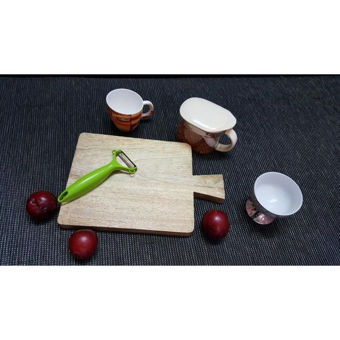 Onlineshoppee Mango Wood Best Quality Kitchen Chopping Board  Size(LxBxH-12x8x1) Inch