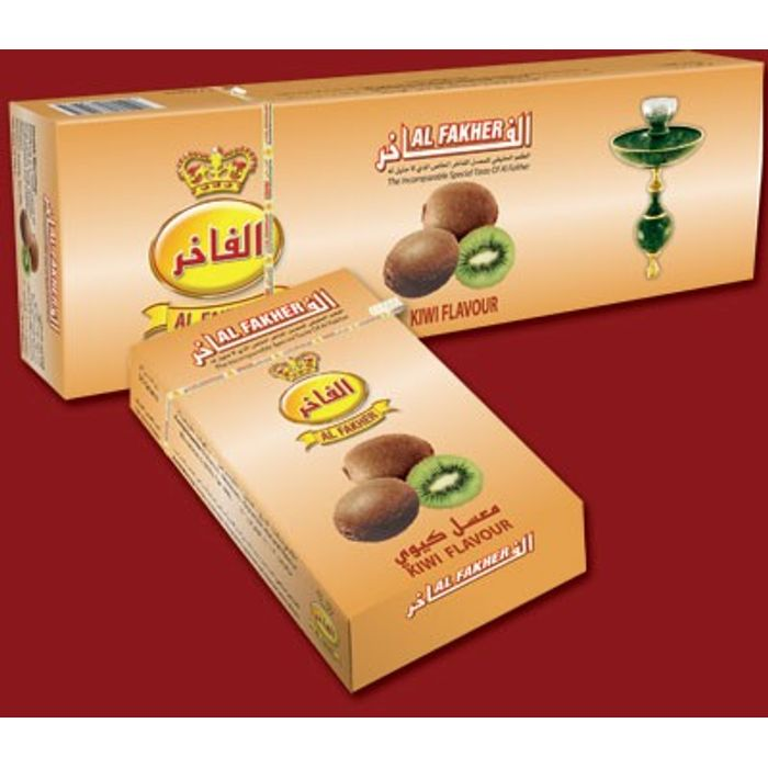 AL FAKHER Kiwi Flavour Imported Arabian Flavour for Hookah 500 Gm Pack Of 10