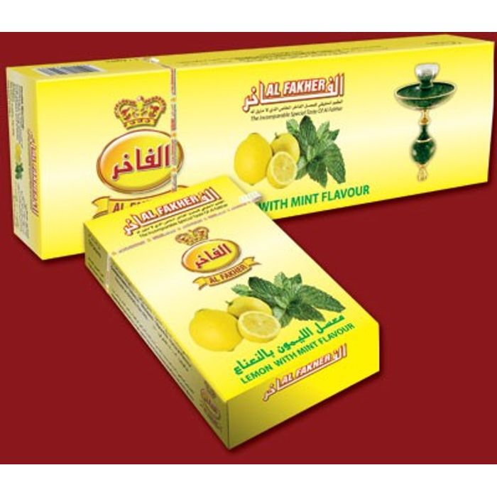 AL FAKHER LemonFlavour Imported Arabian Flavour for Hookah 500 Gm Pack Of 10