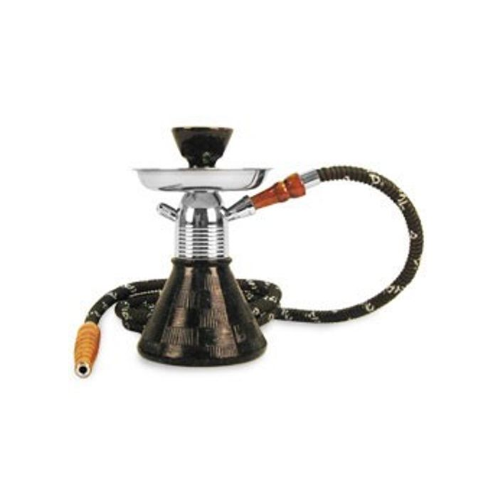 Onlineshoppee  Petite 9 inch Glass Hookah,Coal Pack And Flavor