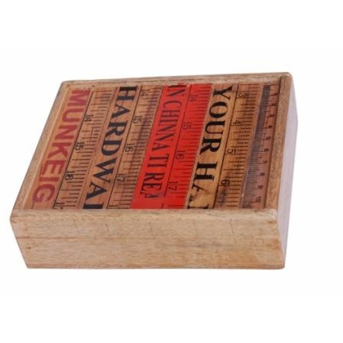 Onlineshoppee Wooden Antique Rusted Look Jewellery Box With Top Design