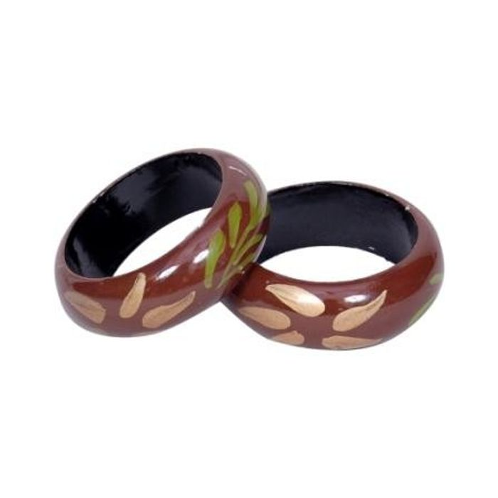 Onlineshoppee Beautiful Wooden Bangles