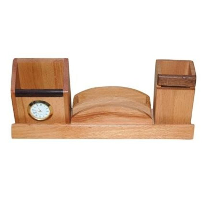 Wooden  Pen and Card,Mobile  holder With Watch