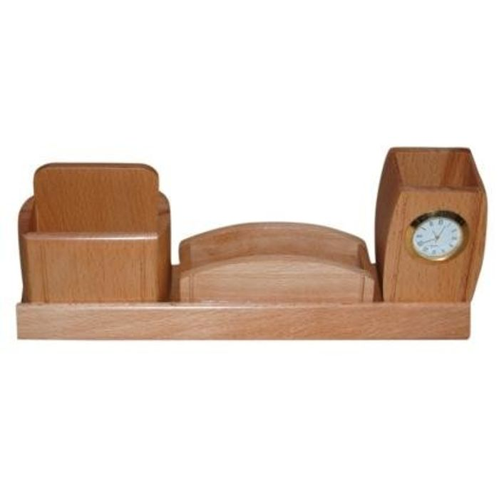 Wooden  Big Mobile,Letter,Pen holder with Watch