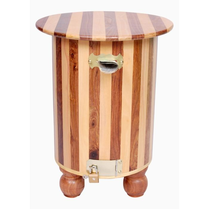 Onlineshoppee Wooden Money Bank Cum Stool/Chair/Table type Shape