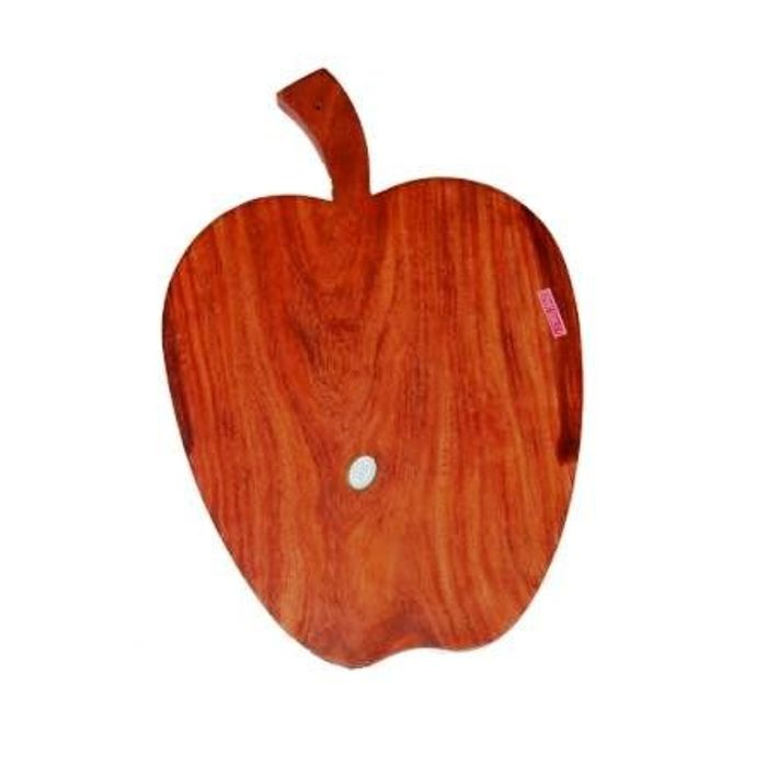 Onlineshoppee Wooden Apple  Shape Kitchen Chopping Board in Best Quality Wood