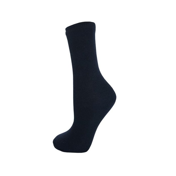Onlineshoppee Formal Comfortable  Socks  Color-Black Pack of 6