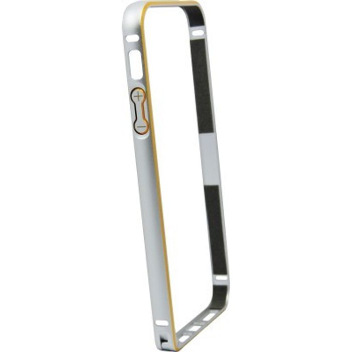 Apple iphone 5G  Silver Color Metal Bumper Case Cover