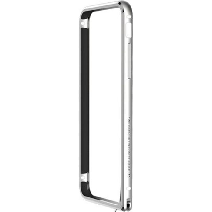 Apple iphone 6G  Silver Color Metal Bumper Case Cover