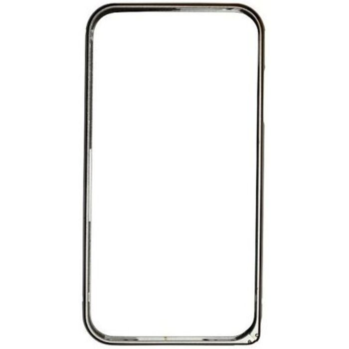Apple iphone 4G  Silver Color Metal Bumper Case Cover
