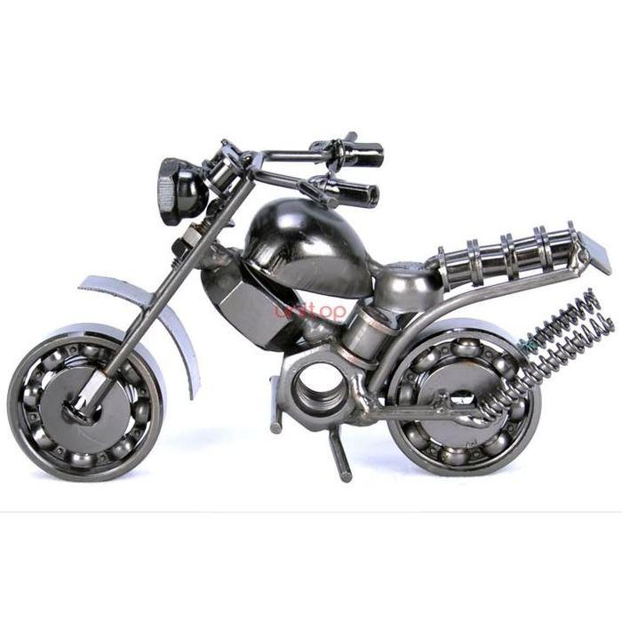 Handmade Iron Motorcycle Home Decor gift decoration BK3