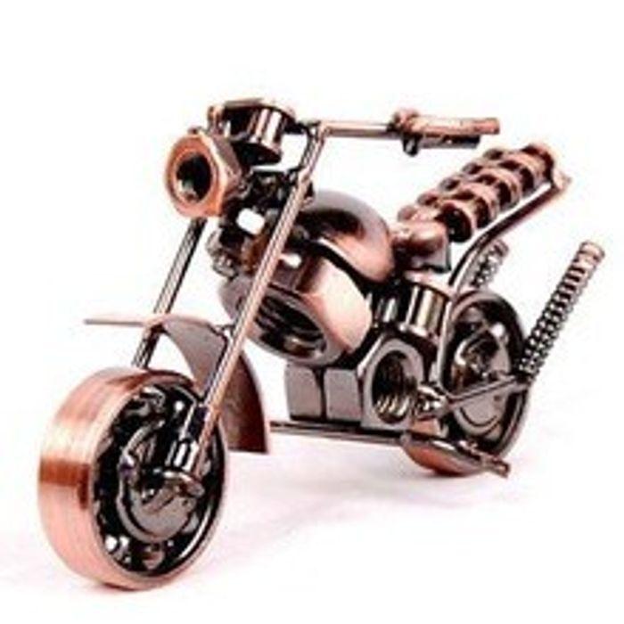 Handmade Iron Motorcycle Home Decor gift decoration BK4