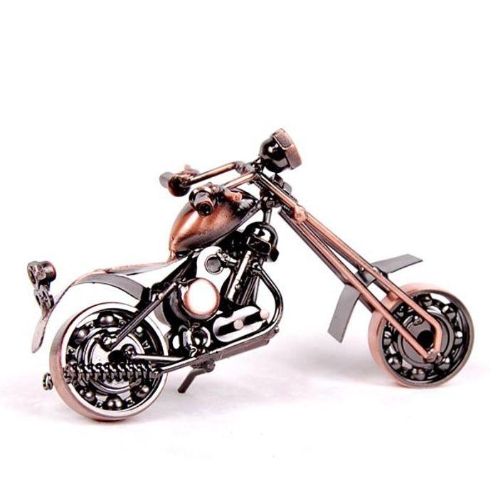Handmade Iron Motorcycle Home Decor gift decoration BK7