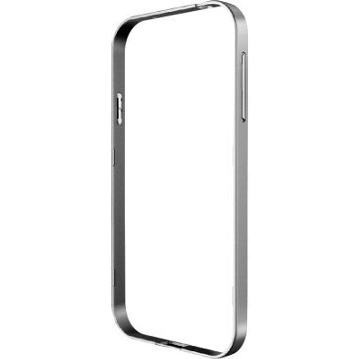 Samsung Galaxy E5 Silver Color Metal Bumper Case Cover