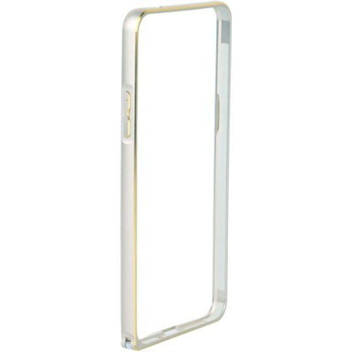 Samsung Galaxy Core 2 SM-G355 Silver Color Metal Bumper Case Cover