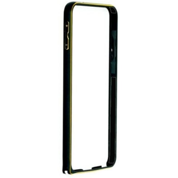 Samsung galaxy J1 Black Color Metal Bumper Case Cover