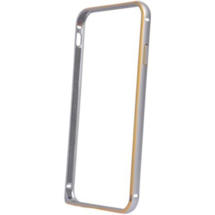 Samsung galaxy J5 Silver Color Metal Bumper Case Cover