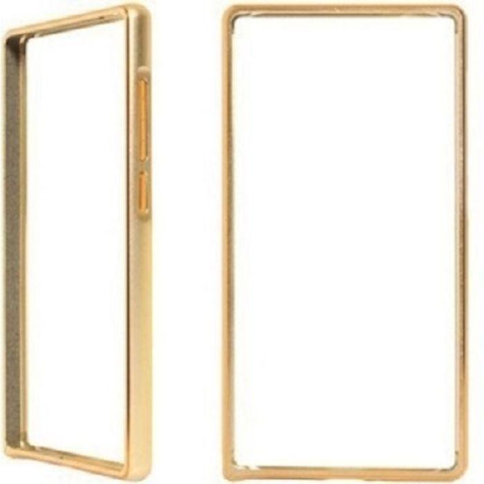 Samsung galaxy J7 Golden Color Metal Bumper Case Cover