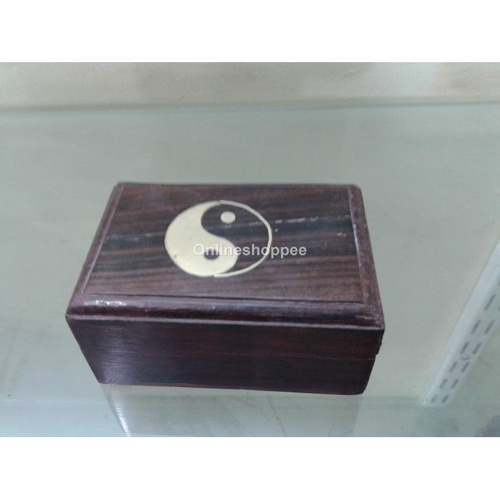 Wooden Jewelry Box Made From Rose Wood