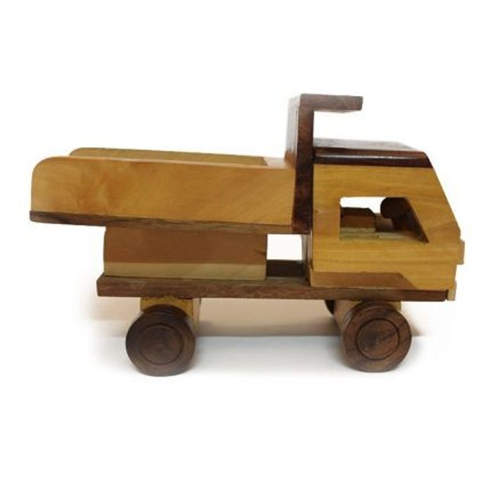 Wooden Toy Dumper Truck