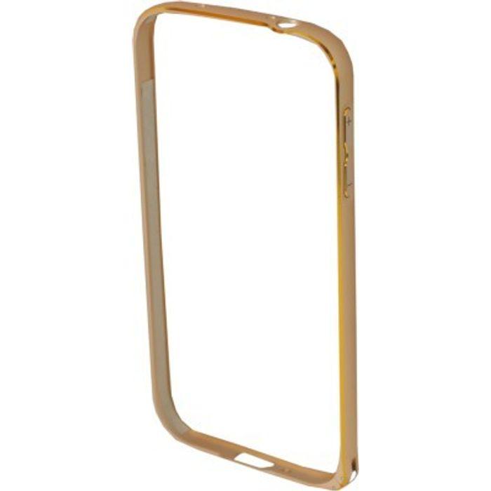 Samsung Galaxy S4 I9500 Golden Color Metal Bumper Case Cover