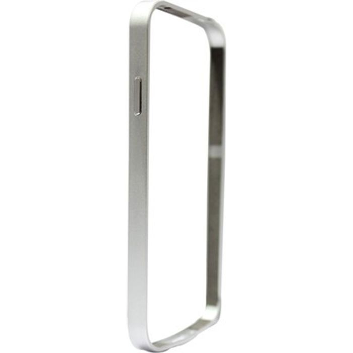 Samsung Galaxy S4 I9500 Silver Color Metal Bumper Case Cover
