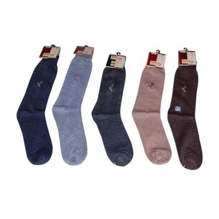 Onlineshoppee Premium Design Quality Woolen Long Socks For Men Set of 10