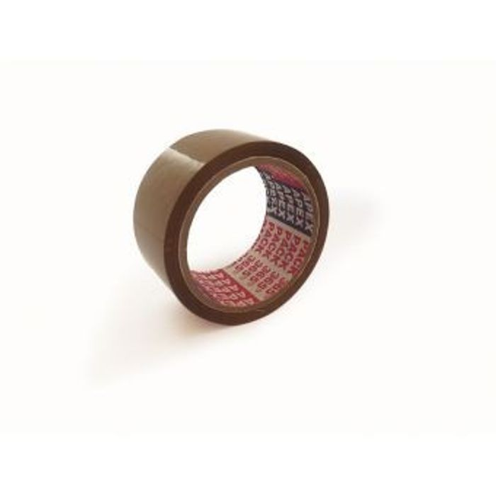 Brown Packing Tape - 2.5 Inches Wide And  100 Meters Long | Pack of 3