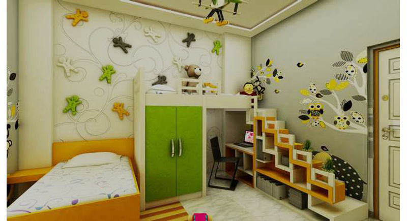 Design Ideas Especially Crafted For Kids Bedroom