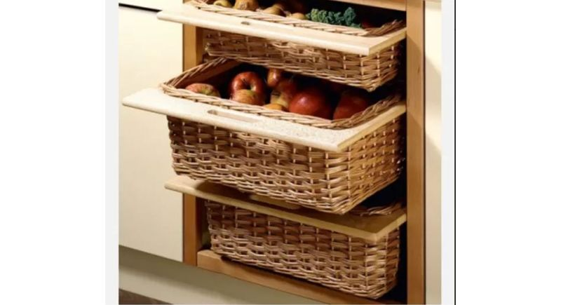 Modern Kitchen Accessories   Kitchen Baskets For Modular Kitchen