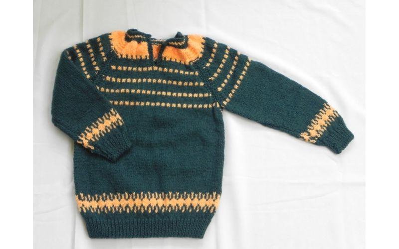 ed8cae12 3 Years Kids Handmade Woolen Sweater Set BS38