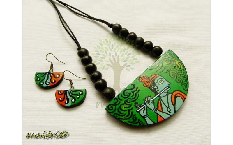 Terracotta jewellery tribe neclace - Do It Yourself - Video ...