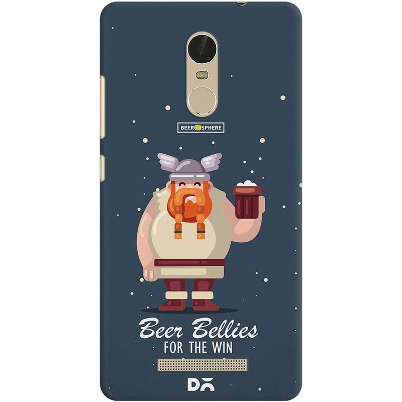free shipping 8aa75 73013 Beer Bellies FTW Case For Xiaomi Redmi Note 3