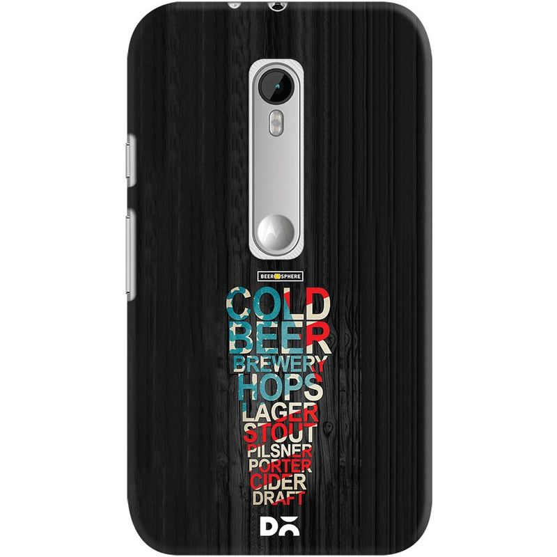 new arrivals 2c9b3 34f7a Red White & Beer Case For Motorola Moto G3