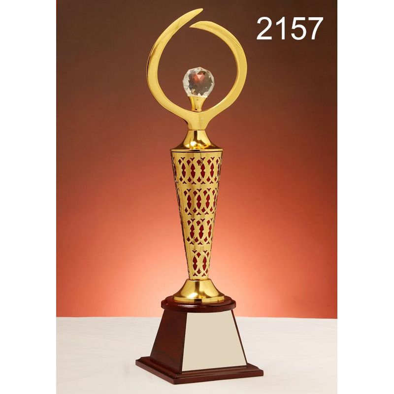 Metallic Designer Trophy For Events