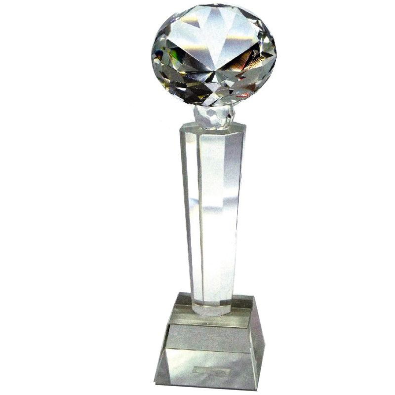 Glass Memento For Corporate Proud Diamond
