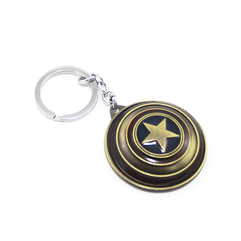 CaptA-Keychain-Gold