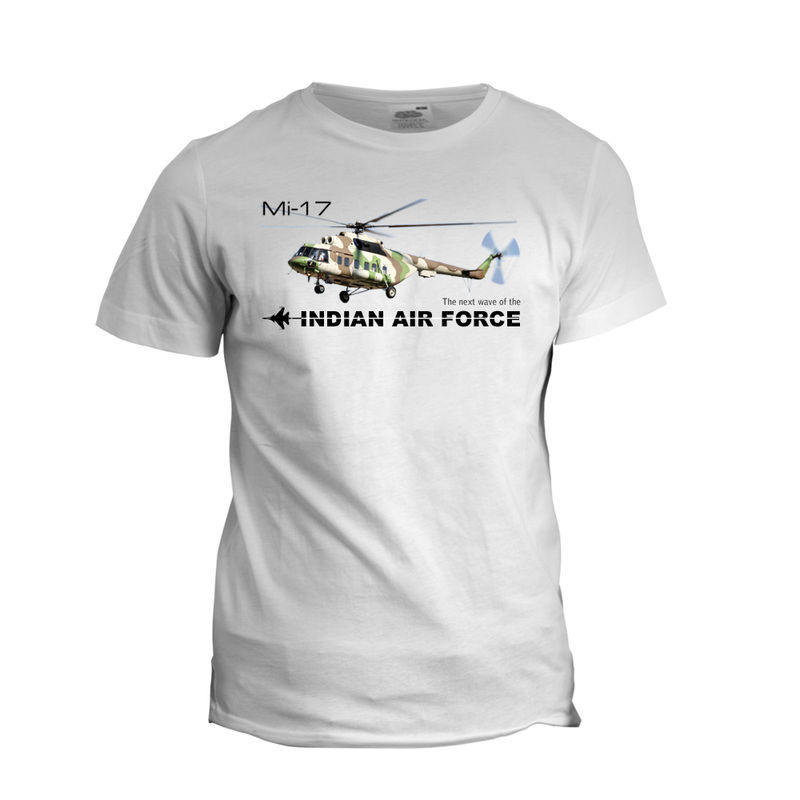 Mi-17-Gunship Side View T-shirt