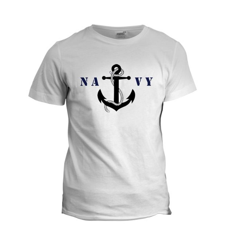 Navy Anchor TShirt