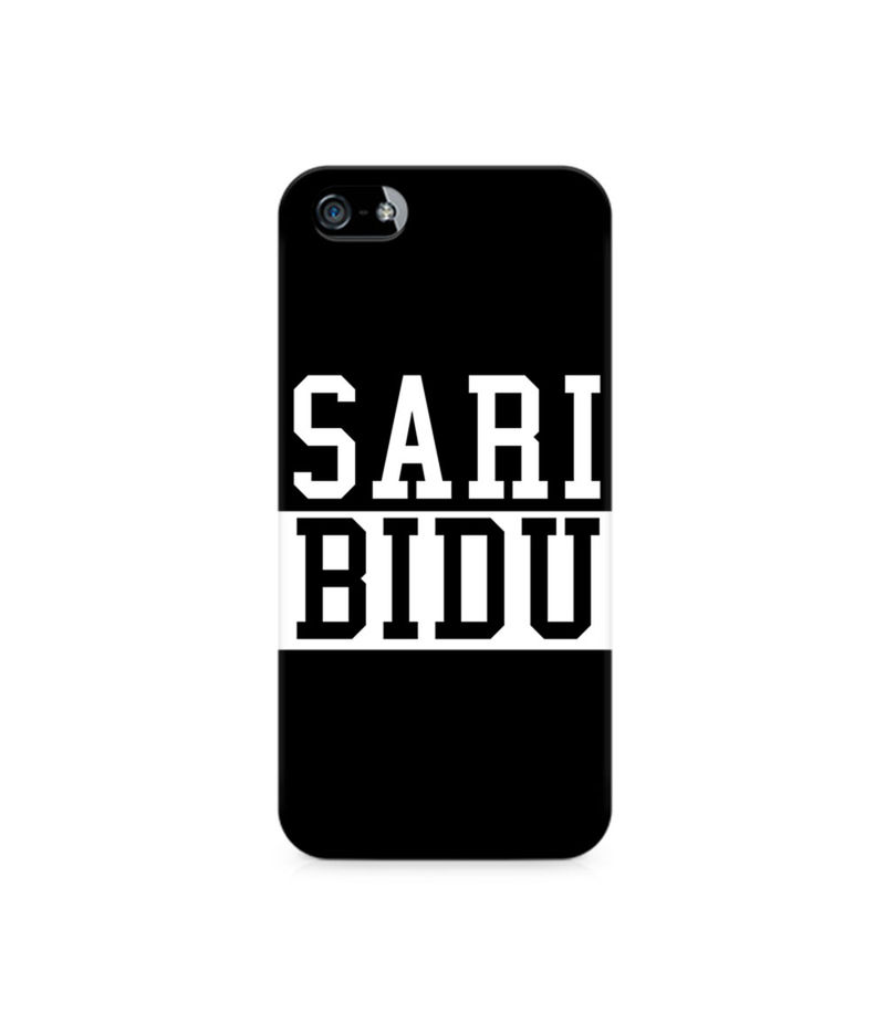 Sari Bidu Premium Printed Case For Apple iPhone 5