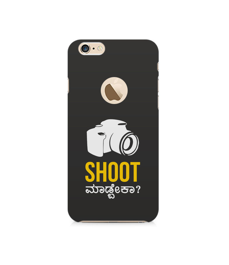 Shoot Madbeka Premium Printed Case For Apple iPhone 6-6S With hole