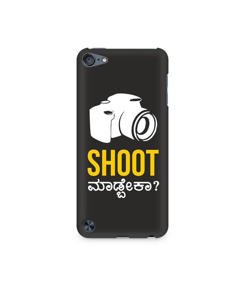 Shoot Madbeka Premium Printed Case For Apple iPod Touch 5