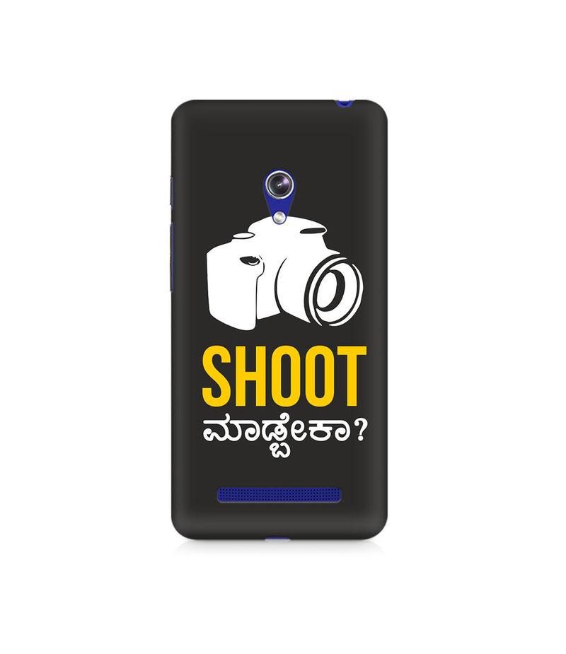 Shoot Madbeka Premium Printed Case For Asus Zenfone Go
