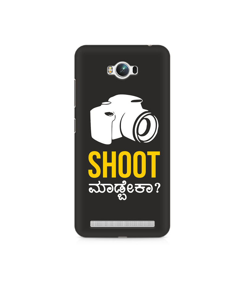 Shoot Madbeka Premium Printed Case For Asus Zenfone Max